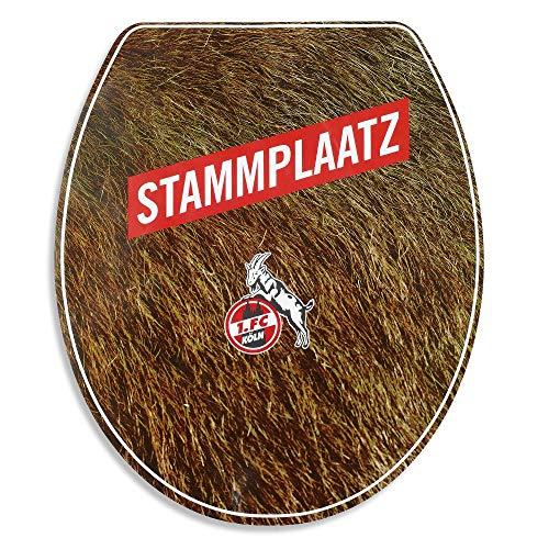 1. FC Köln Toillettensitz-Aufkleber Stammplaatz