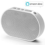 GGMM E2 Enceinte sans Fil Bluetooth WiFi Portable Mini Haut-Parleur Intelligent avec Alexa Airplay Multiroom Son Stéréo 10W Blanc