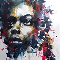 POSTERLOUNGE Póster 50 x 50 cm: Nina Simone : My Baby Just Cares For Me de Paul Paul Lovering Arts - Impresión Artística de Alta Calidad, Nuevo Póster Artístico