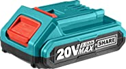 TOTAL Battery Li-ion 20V / 2Ah (TFBLI2001)