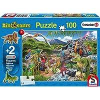 Schmidt 56192 Game, Multicolour, Im Reich der Dinosaurier, 100 Teile