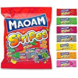 Haribo Maoam Stripes Caramelos - 180 gr