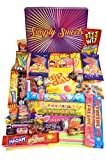 Simply Sweets Retro Sweet Hamper Gift Box. Packed with The Best Retro Sweet. A Perfect Present for Birthdays, Get Well Soon, Christmas. Packed in a Fun Stylish Unique Box.