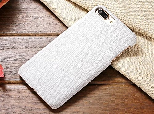 EKINHUI Case Cover IPhone 7 Fall-Abdeckung, Leinenbeschaffenheits-Muster-harte schützende Abdeckung für Apple IPhone 7 ( Color : 1 , Size : IPhone 7 ) 4