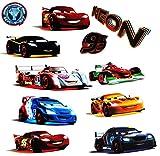 alles-meine.de GmbH 11 tlg. Set _ XL Fensterbilder -  Disney Cars / Lightning Mc Queen  - Sticke..