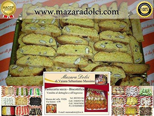 Quaresimali Cantucci alle Mandorle 100% Sicilia Dolci Biscotti Artigianali 1 kg