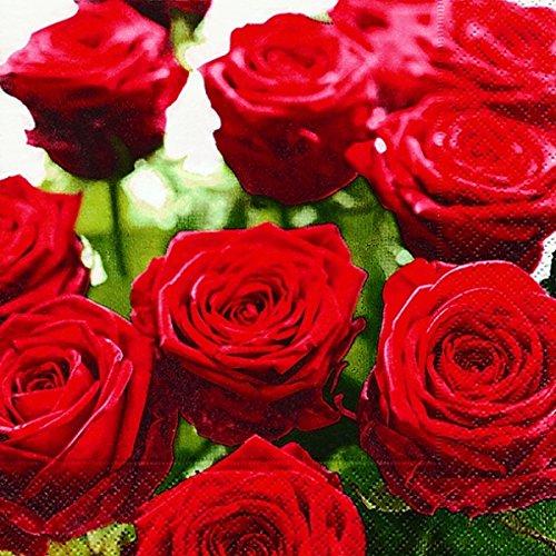 20-serviettes-splendid-herrliche-roses-et-fleurs-roses-33-x-33-cm