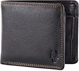 #3: WildHorn Pure Luxuries Genuine Leather Black 8 card Wallet