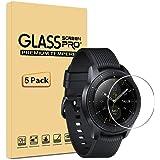 AILRINNI [Pack de 5] Samsung Galaxy Watch 42mm Protection écran, Film Protection d'écran en Verre Trempé pour Samsung Galaxy Smart Watch 42mm SM-R810/SM-R815 [Anti-Rayure] Dureté 9H écran