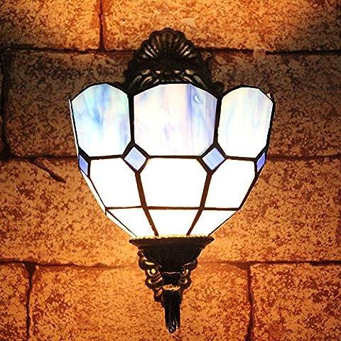 XUE 8 Zoll Pastoral Europäische Antike Wand Lampe Korridor Lichter