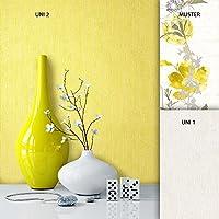 Tapete Edel Papiertapete Gelb Uni Einfarbig, Schönes Design Mit Luxus  Effekt, Moderne Natur Optik