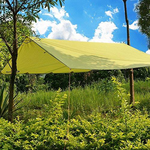 odoland sonnensegel wasserabweisend ultraleicht mit tragetasche strand sonnenschirm. Black Bedroom Furniture Sets. Home Design Ideas