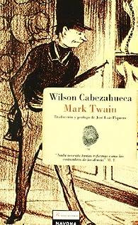 Wilson Cabezahueca par Mark Twain