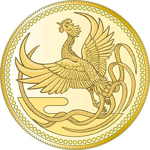 Power Coin Emperor Enthronement Phönix Gold Münze 10000 Yen Japan 2019