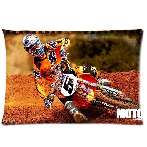 ryan-dungey-ama-supercross-20-x-30-deux-cotes-custom-coton-polyester-taie-doreiller-coussin-modele-c