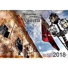 Silberstein porträtiert Valletta (Wandkalender 2018 DIN A2 quer): Künstlerisch verfremdete Ansichten der Stadt Valletta (Monatskalender, 14 Seiten ) ... [Kalender] [Apr 27, 2017] Silberstein, Reiner