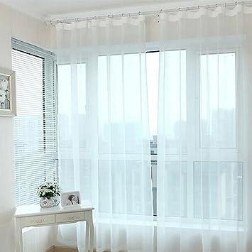 yiwa tende per soggiorno balcone camera da letto transparente ... - Tende Per Soggiorno Immagini 2