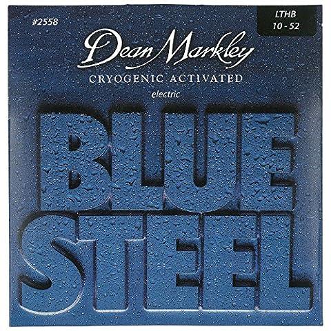 Dean Markley 2558 Blue Steel Saiten für E-Gitarren, Stärke LTHB .010-.052