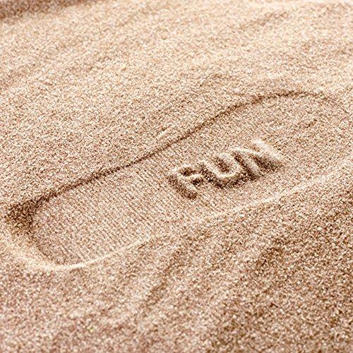 Bright Sole Infradito da spiaggia con impronta sabbia HAVE FUN Rosso