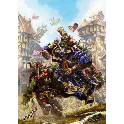 Blood Bowl Poster On Silk <60cm x 85cm, 24inch x 34inch> - Cartel de S
