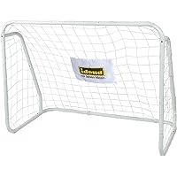 Idena 40099 - Fußballtor aus Metall mit Netz, ab 6 Jahren, ca. 124 x 96 x 61 cm, schnelle Montage, ideal für Garten…