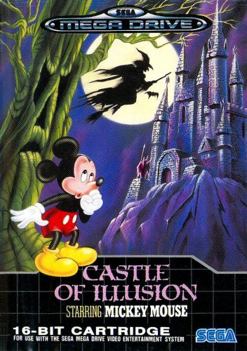 Castle of illusion starring Mickey Mouse - Megadrive - PAL -