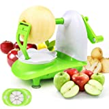 Mciskin Appeldunschiller en appelsnijder, professionele appelschiller en snijder (appelschiller)