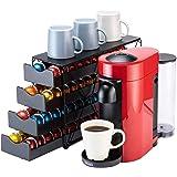 Bagoo Support à dosettes de café pour tiroir Nespresso Vertuoline à plusieurs étages pour rangement de capsules Vertuo (4 niv