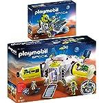 Playmobil® Space 2pcs. Set 9487 9491 Mars Station + Mars Trike