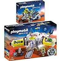 Playmobil® Space 2pcs. Set 9487 9491 Mars Station + Mars Trike