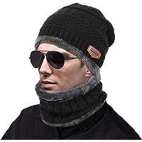MUCO Sciarpa Cappello Caldo Donna/Uomo/Bambino/Ragazzo/Ragazza Inverno/Autunno Sci all'aperto