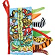 Amison Animal Tails Cloth book Baby Toy Cloth Development Books Learning & Education books (Pattern 5)