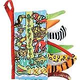 Amison Animal Tails Cloth book Baby Toy Cloth Development Books Learning & Education books (Pattern 5) - Amison - amazon.co.uk