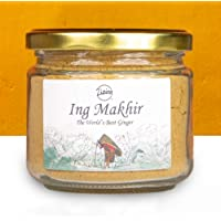 Zizira Ing Makhir Ginger Powder | Unique Variety of Ginger | Grown traditionally in Meghalaya I Direct from Farmers 90…