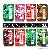 8 x Lip Balm Unisex Lip Care 8 Different Flavours UV Protection No Colour Repair & Protect Wholesale