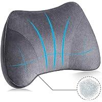 Elegear Cuscino Lombare Ortopedico Supporto Lombare FutureTech 3D Cuscino Schiena Ergonomico per Auto Sedia Ufficio…