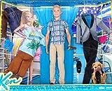 Ken Puppe mit Sonnenbrille und 3 tollen Garderoben