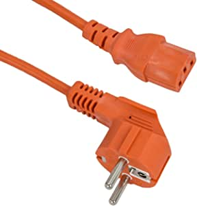 Xtc 2m Kaltgerätekabel Netzkabel Für Pc Monitore Elektronik