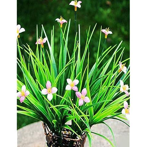 Las plantas plásticas GNWE Flores artificiales , blanco blanco#2297