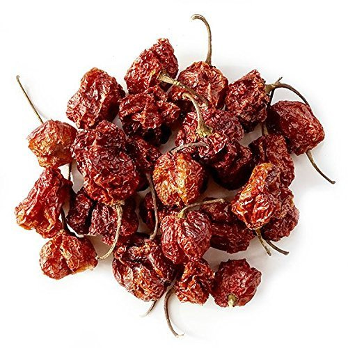 Carolina Reapers Dry Whole Pepper Pods Hottest Peppers in the World