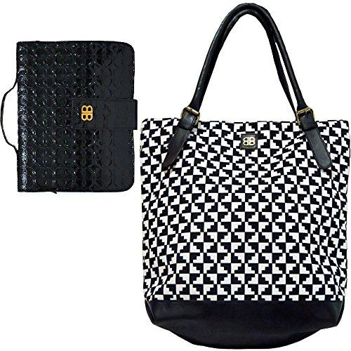 Bagabook Schutzhülle für schwarz & weiß Lakritz Tasche Retro schwarz Book Diary Cover w Einzigartige Handschlaufe -