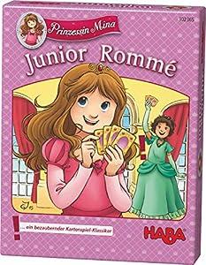 HABA 302365 Juego de Cartas Juego de Cartas Trivial - Juegos de Cartas (5 año(s), Juego de Cartas Trivial, Princess Mina - Junior Rummy, Chica, 99 año(s), 20 min)