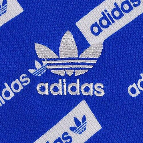 adidas Herren Trf Aop Crew Sweatshirt Blau (AZUL)