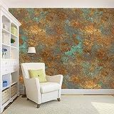 #10: 100yellow Golden With Dark Sea Green Pattern Self Adhesive Peel & Stick Waterproof Hd Wallpaper-5.5 Sqft