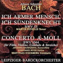Kantate Bwv 55 Concerto A-moll