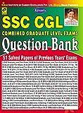 SSC Cgl Exams Question Bank 1999 To 2015 -English - 1607 (51 Solved Papers Of Previous Year Exams) [Jan 01, 2016] Think Tank of Kiran Prakashan