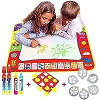 Doodle del Niños pizarra mágica Pad Delux 80x60CM,TQP-CK Dibujo del Pintura Escribir Mat + 4 bolígrafos para pizarra mágica