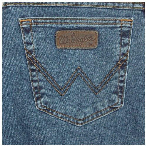 Wrangler Herren Texas Stretch Jeans MITTEL-BLAU