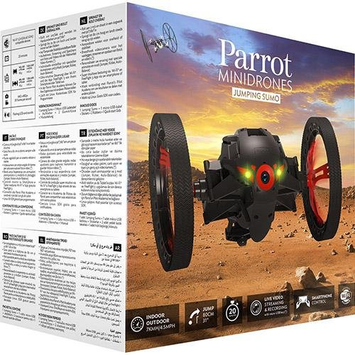 Parrot Jumping Sumo Minidrone (WiFi, Wide Angled Kamera) schwarz - 6