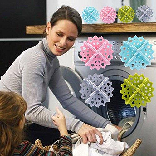 Gaddrt i vestiti del dispositivo di depilazione della lavatrice 4pcs puliscono le borse di filtro di conservazione della palla della lavanderia